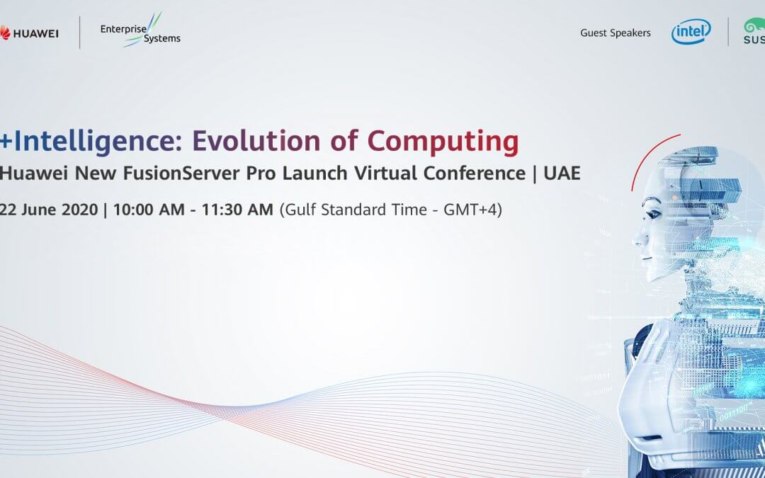 Huawei New FusionServer Pro Launch Virtual Conference